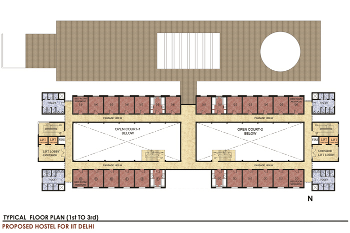 hostel building plan images galleries
